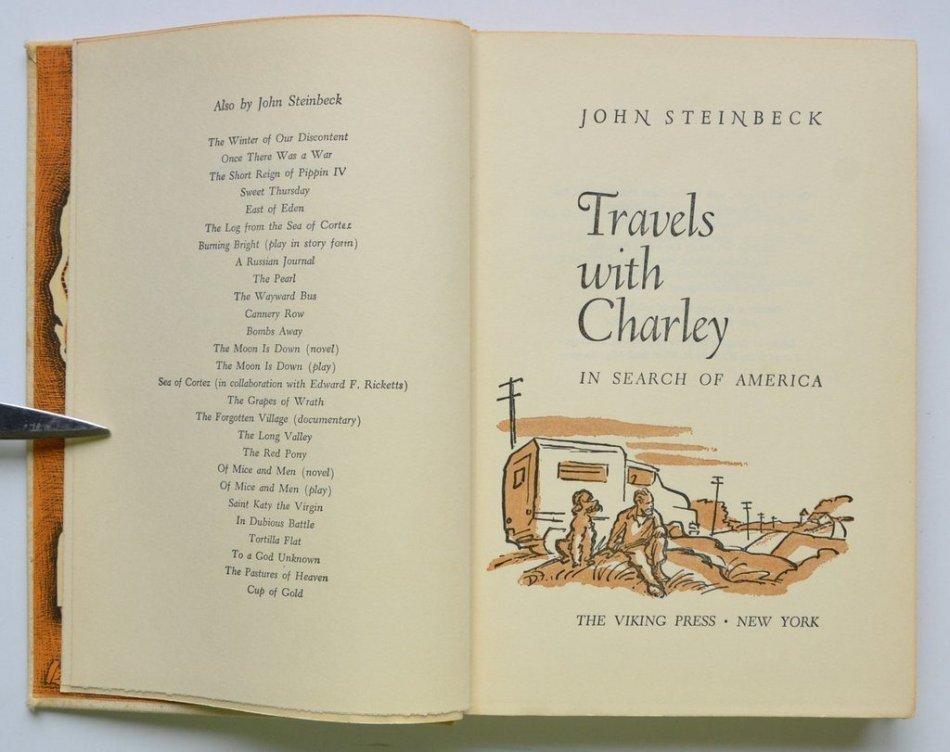 Путешествие с Чарли пудель в книге фото