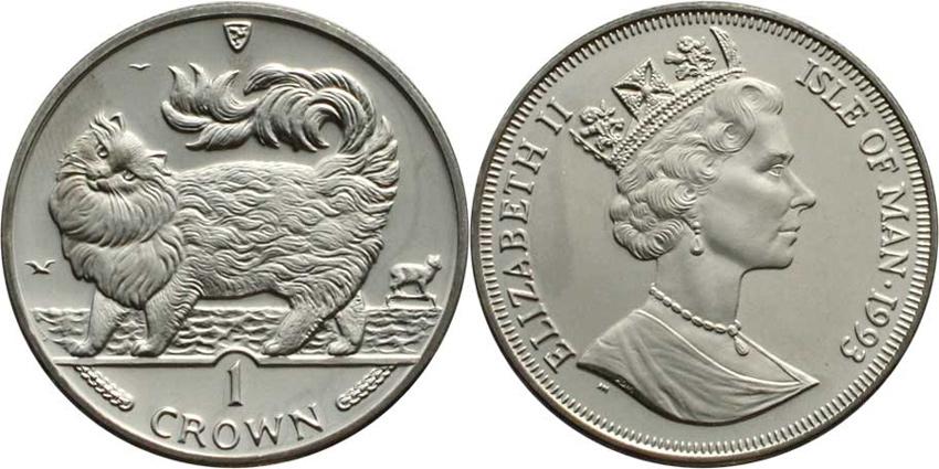 Монета с мейн-куном фото
