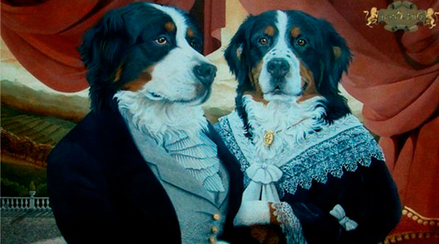 Собаки-аристократы в картинах
