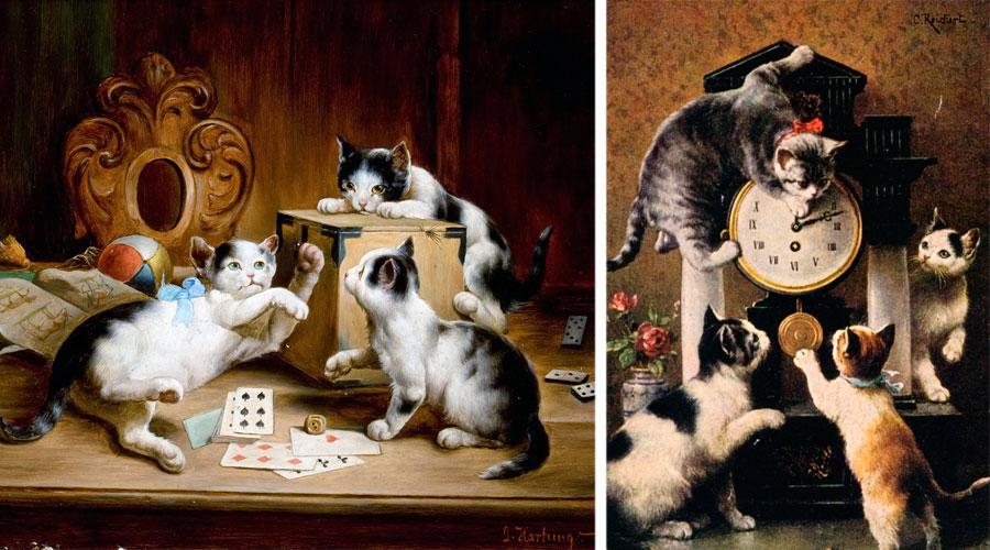 Картины Карла Райхерта
