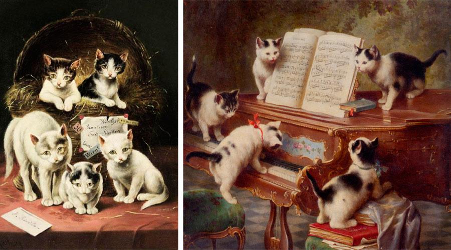 Картины с домашними животными