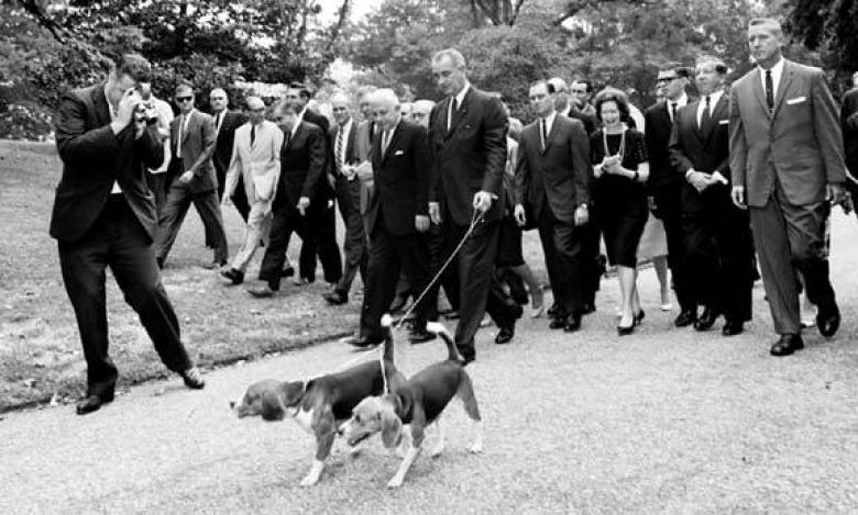 Президент Джонон и его бигли