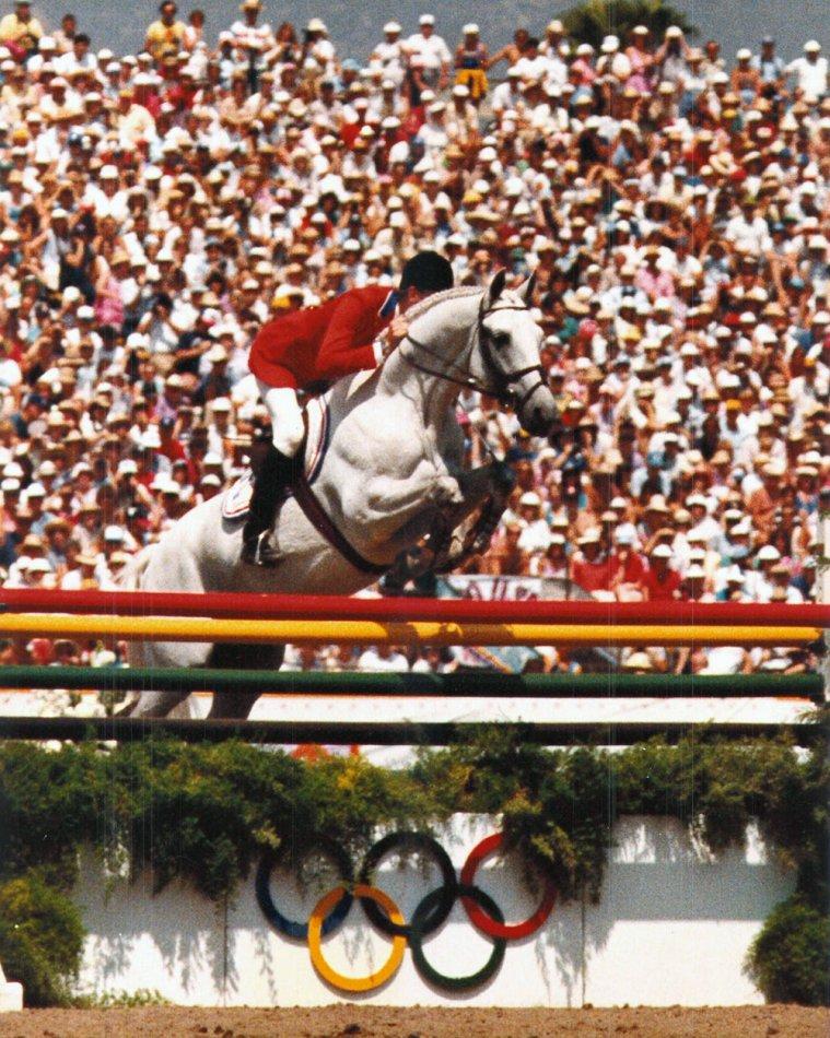 Тракененская лошадь Абдулла - победитель Олимпиады
