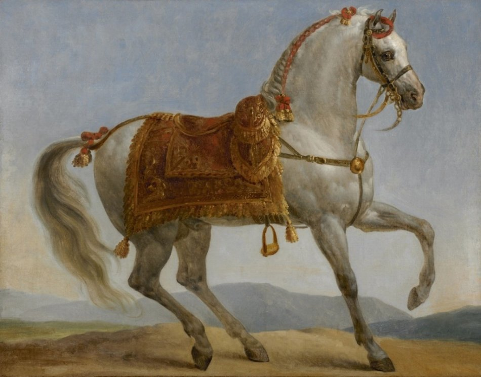 Маренго арабская лошадь Наполеона