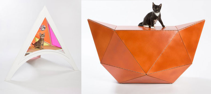 диайнерский проект дома для кошки