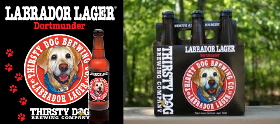 Thirsty Dog Labrador Lager