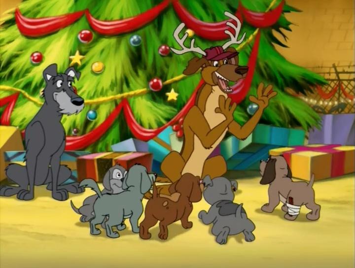 Все псы празднуют Рождество