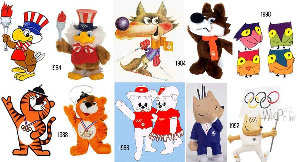 животные символы олимпиад,олимпиада,животные