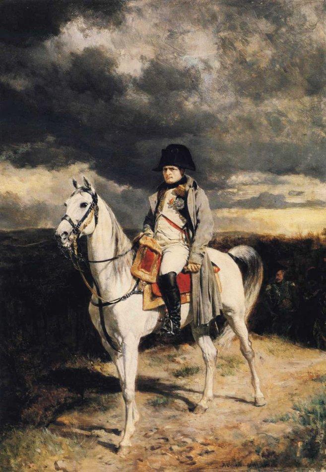 Наполеон на любимом коне Маренго