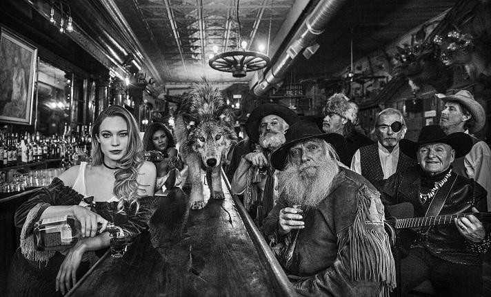 койот в баре