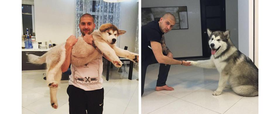 Ярослав-Ракицкий и его собака
