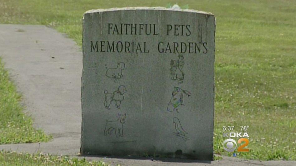Мемориал для животных фото