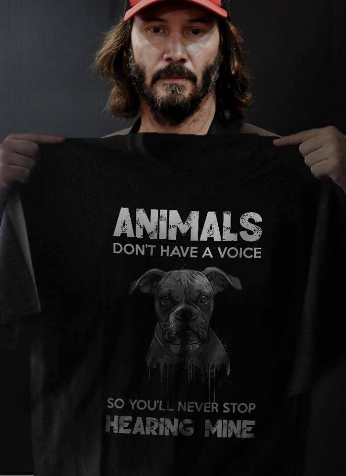 Киану Ривз в защиту животных фото