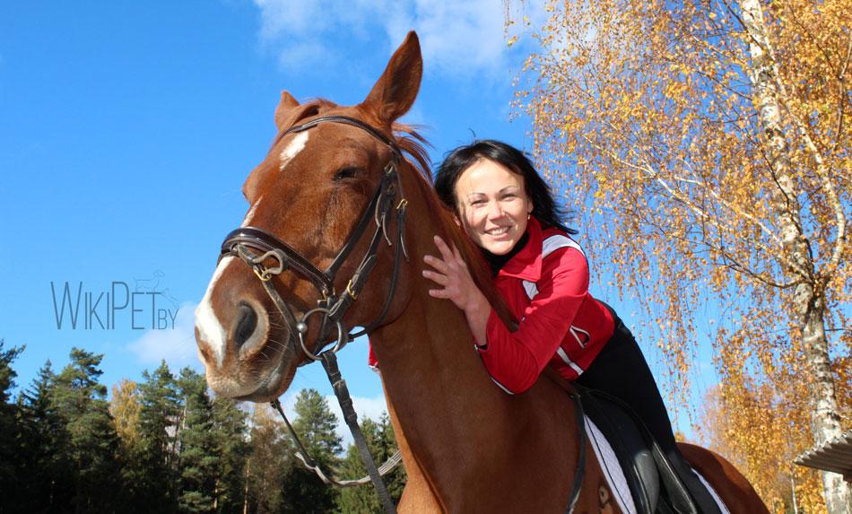 девушка и лошадь фото