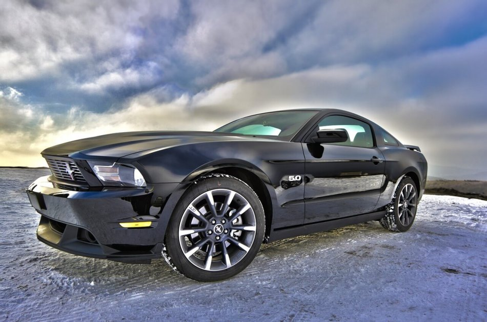 ford mustang фото