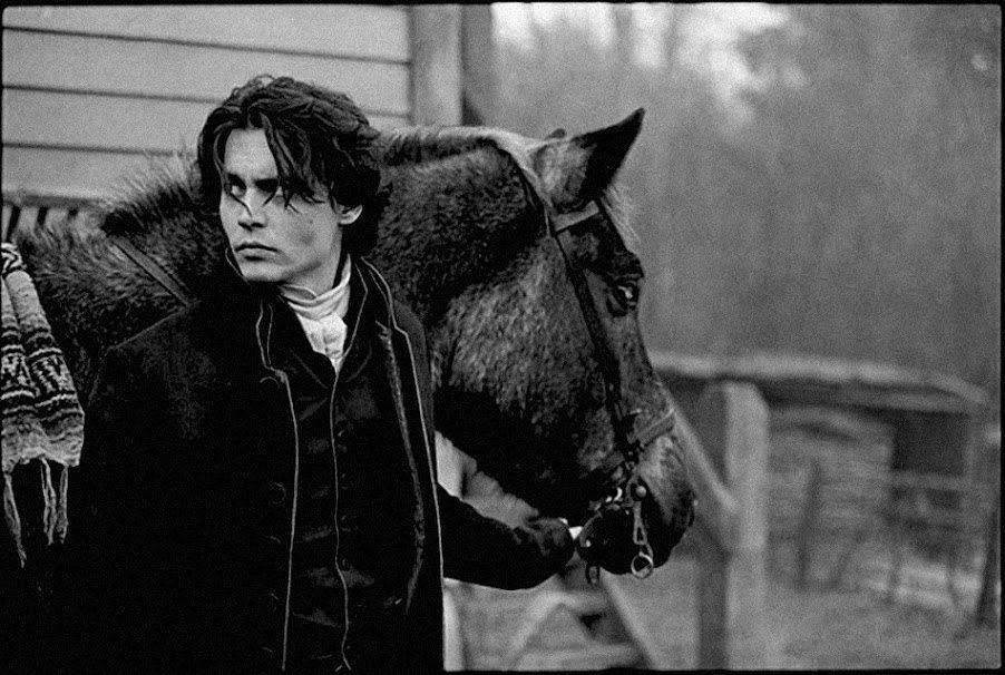 Джонни Депп спас лошадь из фильма Сонная Лощина фото