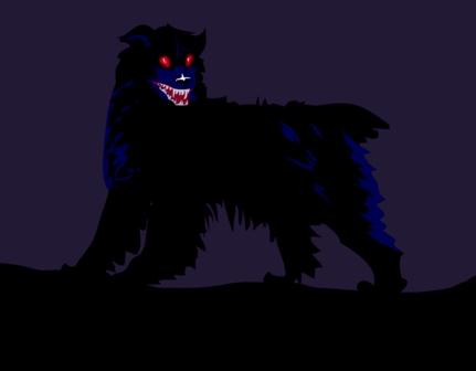 Собака дьявол фото