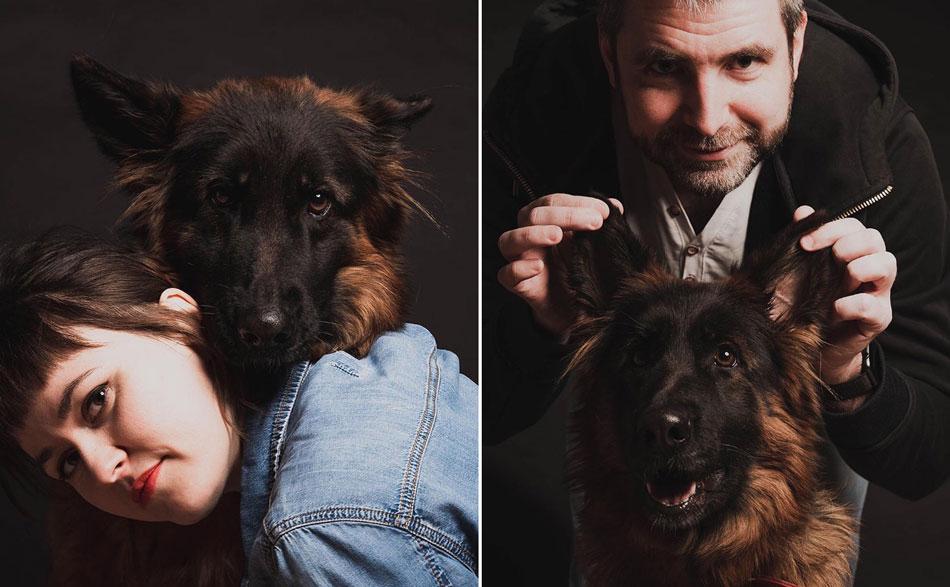 овчарка, собака, фотосессия