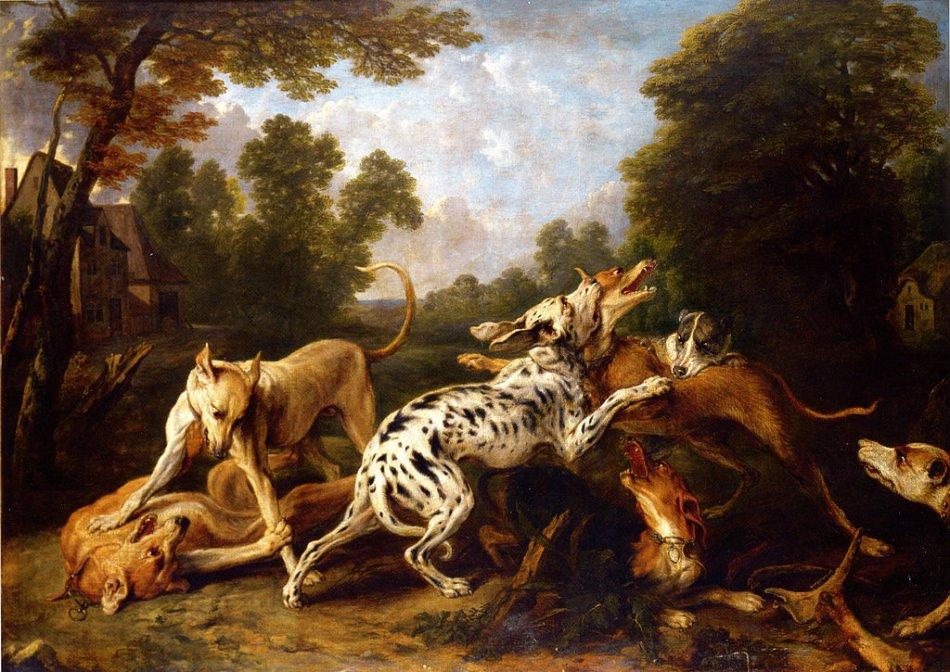 Собаки дерутся картина фото