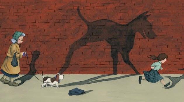 Кинофобия рисунок фото девочка убегает от собаки